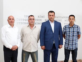 Azərbaycan yığmasında yeni məşqçi