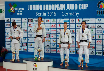 Cüdo yığmamız Avropa kubokuna 4 medalla başladı