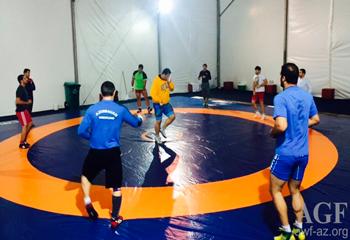 Yunan-Roma güləşçilərimiz Yay Olimpiya Oyunlarına hazırdırlar