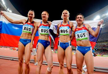Rusiyanın yüngül atletika yığması olimpiadanın qızıl medalından məhrum edilib