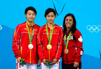 Rio-2016: 15 yaşlı çinli çempion oldu