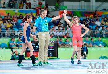 Rio-2016: Nataliya Sinişin bürünc medal qazandı