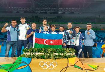 Rio-2016: Azərbaycan ilk qızıl medalını qazandı