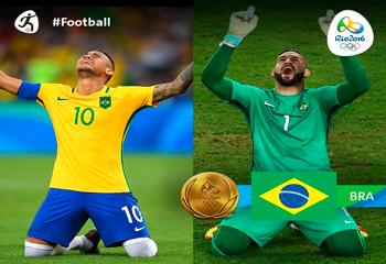 Rio-2016: Braziliya Olimpiya çempionu oldu