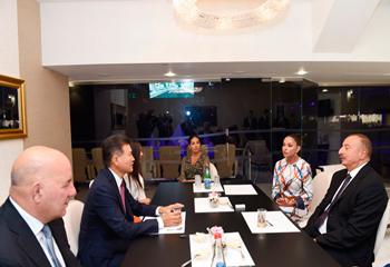 İlham Əliyev FİDE prezidenti ilə görüşüb
