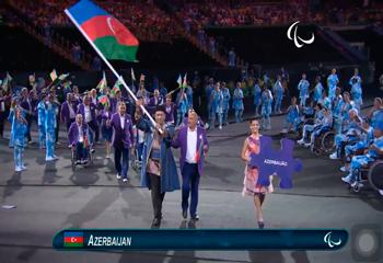 XV Yay Paralimpiya oyunlarının açılış mərasimi keçirilib