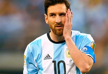 Argentina mətbuatı Messini tənqid etdi