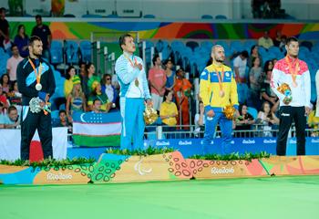 Mustafayev Azərbaycana Rio Paralimpiadasında ilk medalı qazandırdı