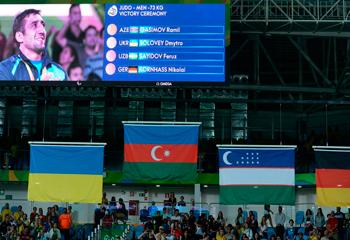 Ramil Qasımov Azərbaycana Rioda ilk qızıl medalını qazandırdı