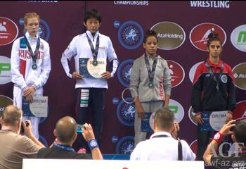 Güləşçimiz bürünc medal qazandı