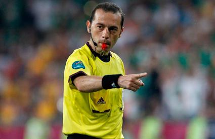 UEFA-dan Çakıra növbəti təyinat