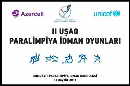 Sumqayıtda II Uşaq Paralimpiya İdman Oyunları keçiriləcək
