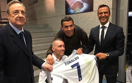 Ronaldodan nümunəvi addım -