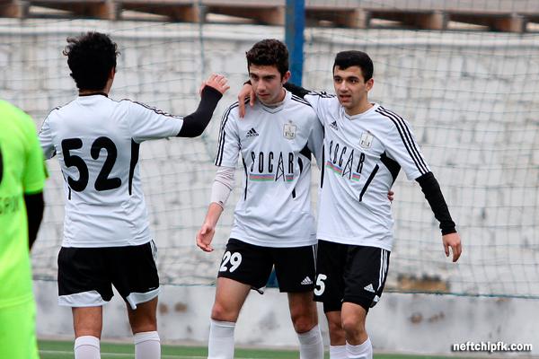 Neftçi U-19 scored 9 goals