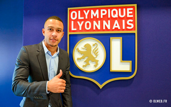 Lyon sign Memphis Depay from Manchester United