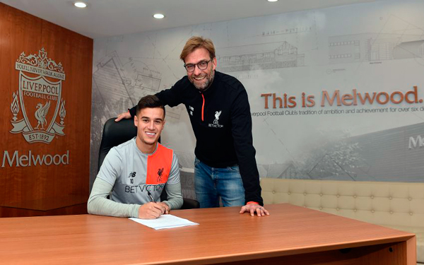 Philippe Coutinho signs new long-term Liverpool FC deal