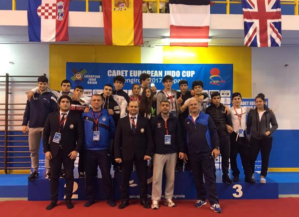 Azərbaycan cüdoçularından Avropa kubokunda 7 medal