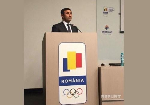 Rumıniyada federasiyaya azərbaycanlı vitse-prezident seçildi
