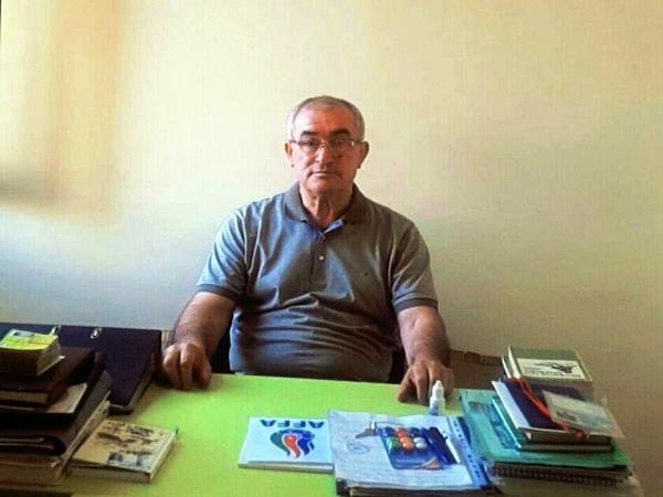 Nadir Qasımov koronavirusa yoluxdu