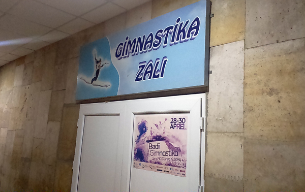 Paytaxtda yeni gimnastika zalı istifadəyə verildi - FOTOLAR