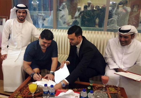 Əfsanəvi Maradonanın yeni iş yeri məlum oldu - FOTO