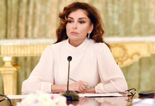 Mehriban Əliyeva yüksək mükafata layiq görüldü - FOTO