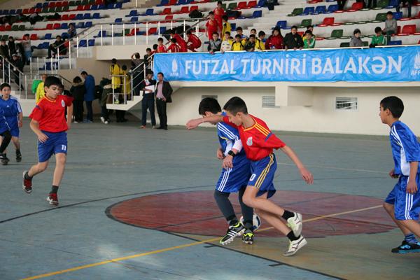Balakəndə futzal turniri start götürdü, Çirinqov bombardir oldu -