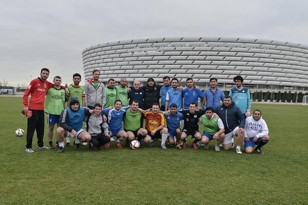AFFA, Bakı Olimpiya stadionu və Media Komitəsi idman jurnalistləri arasında futbol turniri keçirdi