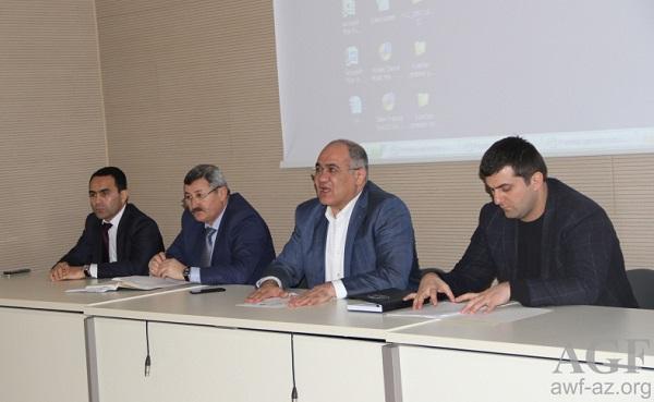 Hakimlər və məşqçilər üçün seminar keçirildi