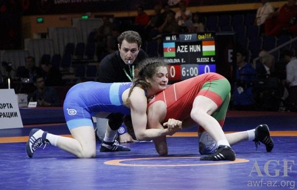 Elis gümüş, Alyona bürünc medal qazandı
