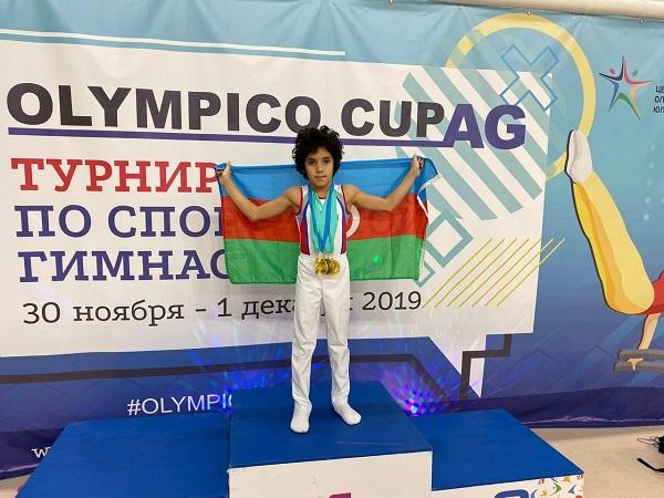 Azərbaycanlı idmançı Rusiyada 6 qızıl medal qazandı -