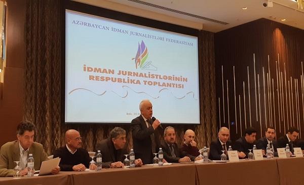 İdman Jurnalistləri Federasiyası ilk toplantısını keçirdi -